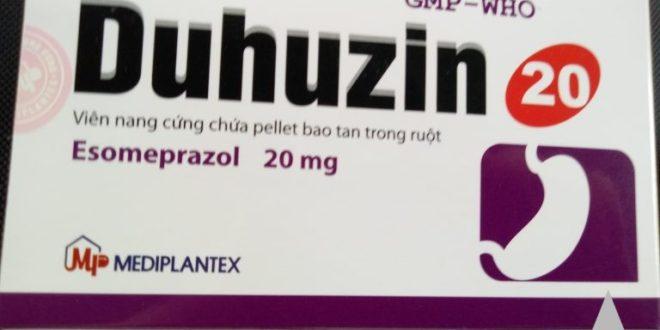 Thuốc duhuzin 20 là thuốc gì? có tác dụng gì? giá bao nhiêu tiền?