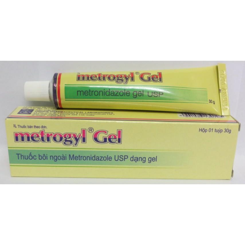 Thuốc metrogyl gel là thuốc gì? có tác dụng gì? giá bao nhiêu tiền?
