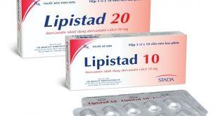 Thuốc lipistad 20 là thuốc gì? có tác dụng gì? giá bao nhiêu tiền?