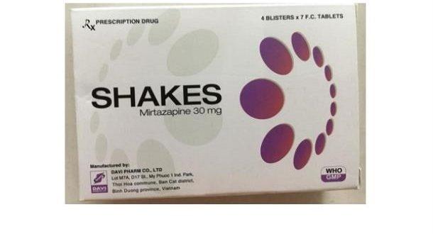Thuốc shakes 30 là thuốc gì? có tác dụng gì? giá bao nhiêu tiền?