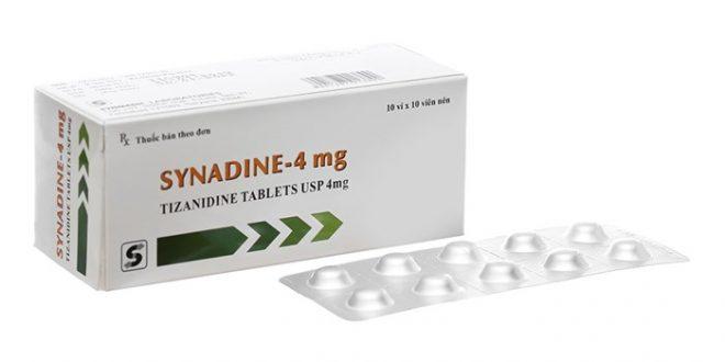 Thuốc synadine 4mg là thuốc gì? có tác dụng gì? giá bao nhiêu tiền?