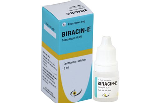 Thuốc biracin e 0.3% là thuốc gì? có tác dụng gì? giá bao nhiêu tiền?