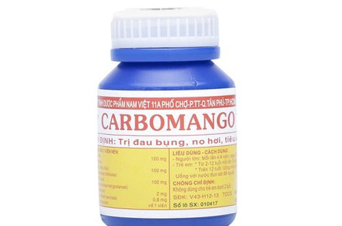Thuốc carbomango là thuốc gì? có tác dụng gì? giá bao nhiêu tiền?