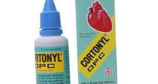 Thuốc cortonyl opc 25ml là thuốc gì? có tác dụng gì? giá bao nhiêu tiền?