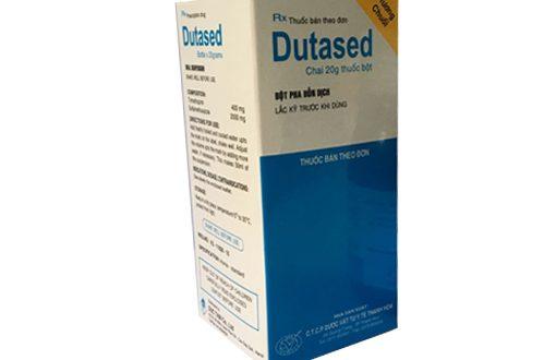 Thuốc dutased 50ml là thuốc gì? có tác dụng gì? giá bao nhiêu tiền?