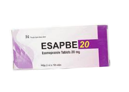 Thuốc esapbe 20 là thuốc gì? có tác dụng gì? giá bao nhiêu tiền?
