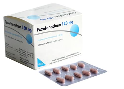 Thuốc fexofenaderm 180 là thuốc gì? có tác dụng gì? giá bao nhiêu tiền?