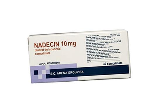 Thuốc nadecin 10 là thuốc gì? có tác dụng gì? giá bao nhiêu tiền?
