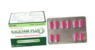 Thuốc kacetam plus là thuốc gì? có tác dụng gì? giá bao nhiêu tiền?