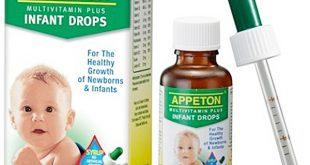 Thuốc appeton infant drop 30ml là thuốc gì? có tác dụng gì? giá bao nhiêu tiền?