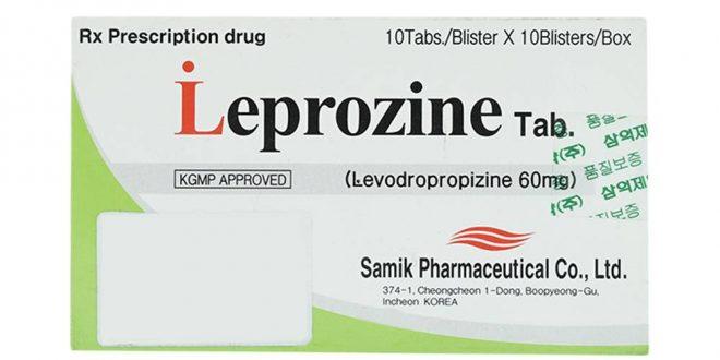 Thuốc leprozine tab 60 là thuốc gì? có tác dụng gì? giá bao nhiêu tiền?
