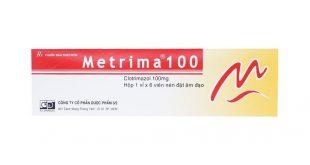 Thuốc metrima 100 là thuốc gì? có tác dụng gì? giá bao nhiêu tiền?