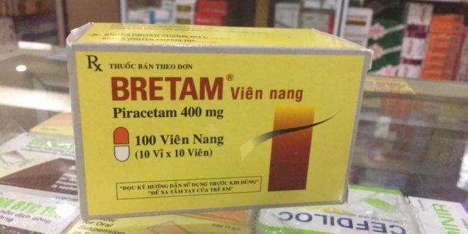 Thuốc bretam 400 là thuốc gì? có tác dụng gì? giá bao nhiêu tiền?