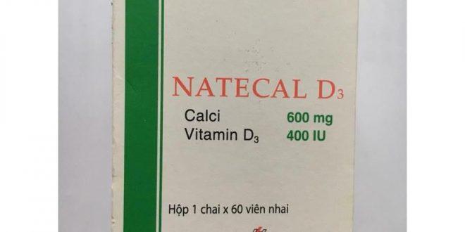 Thuốc natecal d3 là thuốc gì? có tác dụng gì? giá bao nhiêu tiền?