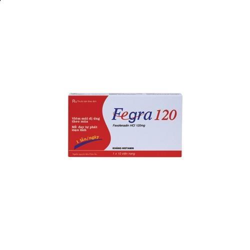 Thuốc fegra 120 là thuốc gì? có tác dụng gì? giá bao nhiêu tiền?