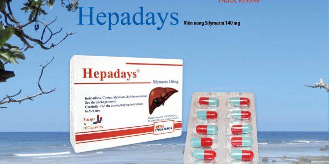 Thuốc hepadays 140 là thuốc gì? có tác dụng gì? giá bao nhiêu tiền?