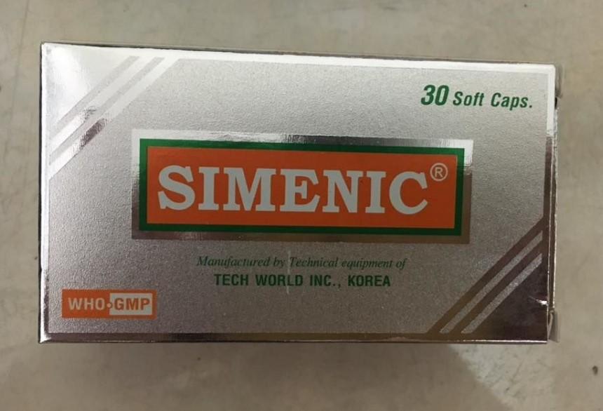 Thuốc simenic là thuốc gì? có tác dụng gì? giá bao nhiêu tiền?