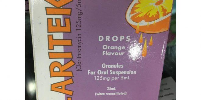 Thuốc claritek 125mg/5ml là thuốc gì? có tác dụng gì? giá bao nhiêu tiền?