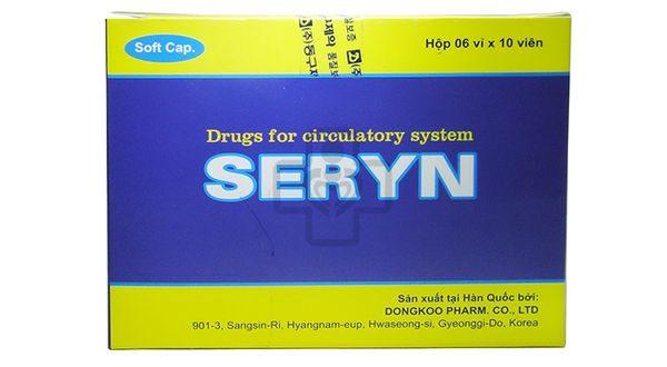 Thuốc seryn soft cap là thuốc gì? có tác dụng gì? giá bao nhiêu tiền?
