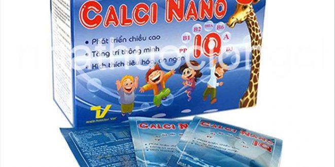 Thuốc canxi nano iq là thuốc gì? có tác dụng gì? giá bao nhiêu tiền?