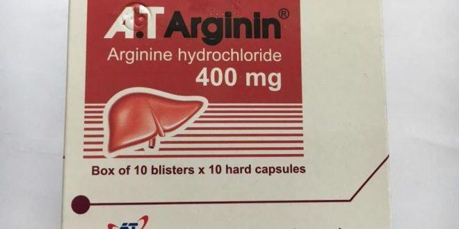 Thuốc at arginin 400 là thuốc gì? có tác dụng gì? giá bao nhiêu tiền?