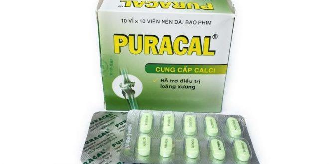 Thuốc puracal là thuốc gì? có tác dụng gì? giá bao nhiêu tiền?