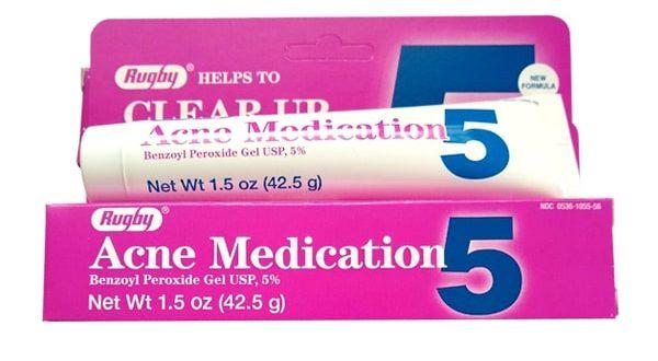 Thuốc acne medication 5 là thuốc gì? có tác dụng gì? giá bao nhiêu tiền?