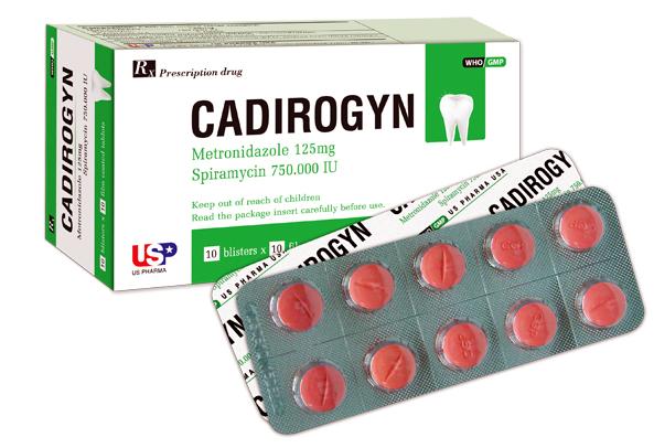 Thuốc cadirogyn là thuốc gì? có tác dụng gì? giá bao nhiêu tiền?