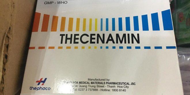 Thuốc thecenamin là thuốc gì? có tác dụng gì? giá bao nhiêu tiền?