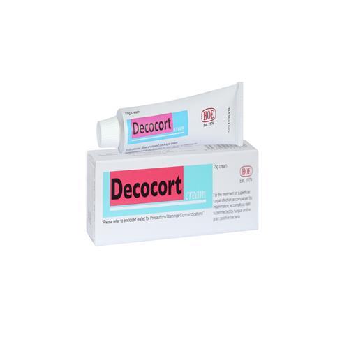 Thuốc decocort cream 15g là thuốc gì? có tác dụng gì? giá bao nhiêu tiền?