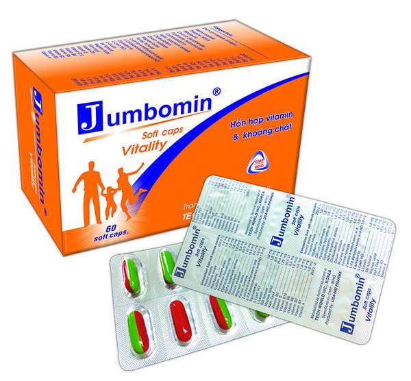 Thuốc jumbomin là thuốc gì? có tác dụng gì? giá bao nhiêu tiền?
