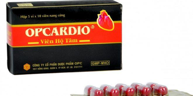 Thuốc opcardio viên hộ tâm là thuốc gì? có tác dụng gì? giá bao nhiêu tiền?