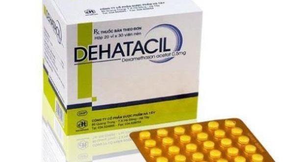 Thuốc dehatacil 0.5 là thuốc gì? có tác dụng gì? giá bao nhiêu tiền?