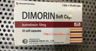 Thuốc dimorin soft cap 10 là thuốc gì? có tác dụng gì? giá bao nhiêu tiền?