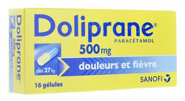 Thuốc doliprane 500 là thuốc gì? có tác dụng gì? giá bao nhiêu tiền?
