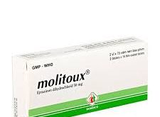 Thuốc molitoux domesco 50 là thuốc gì? có tác dụng gì? giá bao nhiêu tiền?