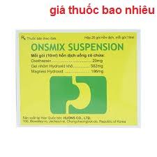 Thuốc onsmix suspension 10ml là thuốc gì? có tác dụng gì? giá bao nhiêu tiền?