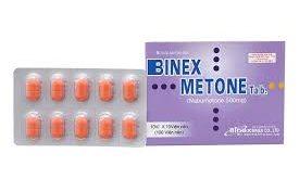 Thuốc binex metone 500 là thuốc gì? có tác dụng gì? giá bao nhiêu tiền?