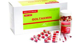 Thuốc goltakmin 325 là thuốc gì? có tác dụng gì? giá bao nhiêu tiền?