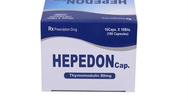 Thuốc hepedon capsule 80 là thuốc gì? có tác dụng gì? giá bao nhiêu tiền?