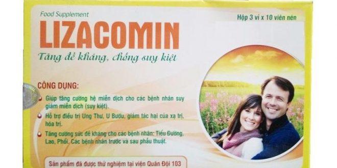 Thuốc lizacomin là thuốc gì? có tác dụng gì? giá bao nhiêu tiền?