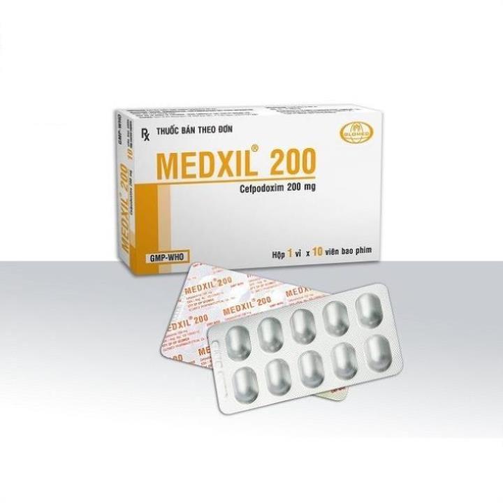 Thuốc medxil 200 là thuốc gì? có tác dụng gì? giá bao nhiêu tiền?
