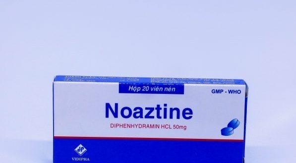 Thuốc noaztine 50 là thuốc gì? có tác dụng gì? giá bao nhiêu tiền?