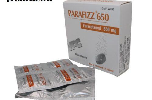 Thuốc parafizz 650 là thuốc gì? có tác dụng gì? giá bao nhiêu tiền?