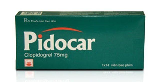 Thuốc pidocar 75 là thuốc gì? có tác dụng gì? giá bao nhiêu tiền?