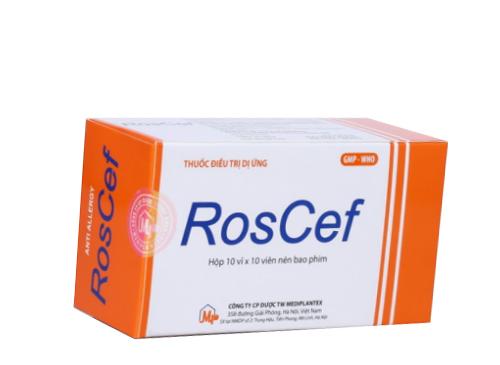 Thuốc roscef 10 là thuốc gì? có tác dụng gì? giá bao nhiêu tiền?