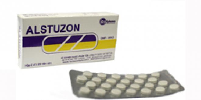 Thuốc alstuzon 25 là thuốc gì? có tác dụng gì? giá bao nhiêu tiền?