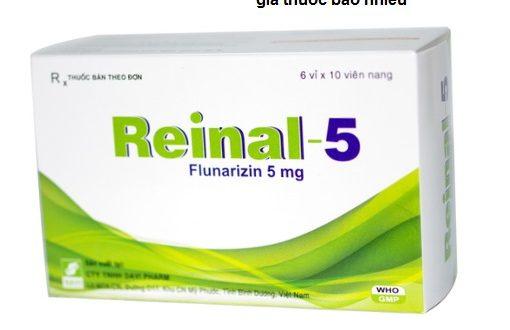 Thuốc reinal 5 là thuốc gì? có tác dụng gì? giá bao nhiêu tiền?