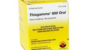 Thuốc thiogamma 600 oral là thuốc gì? có tác dụng gì? giá bao nhiêu tiền?