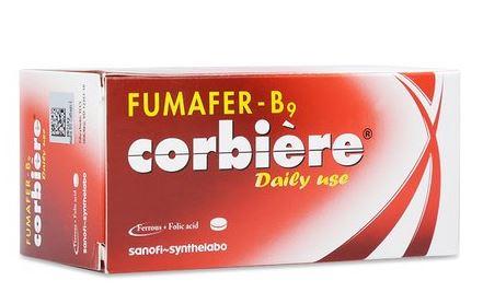 Thuốc fumafer b9 corbiere là thuốc gì? có tác dụng gì? giá bao nhiêu tiền?